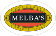 Melba's Chocolates logo